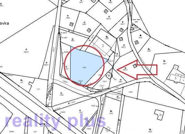 Prodej stavebního pozemku v Machníně, část Bedřichovka