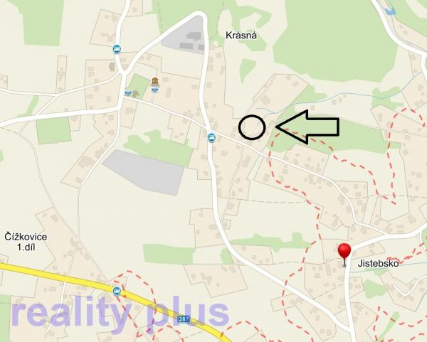 Prodej stavebního pozemku - Pěnčín, Jistebsko u Jablonce nad Nisou
