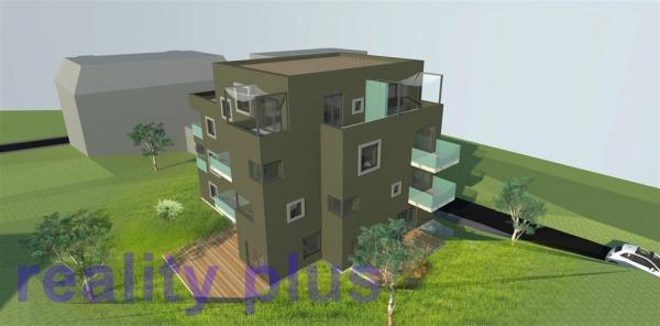 Prodej pozemku vhodného ke stavbě bytového domu v centru Liberce, ul. U Valchy,