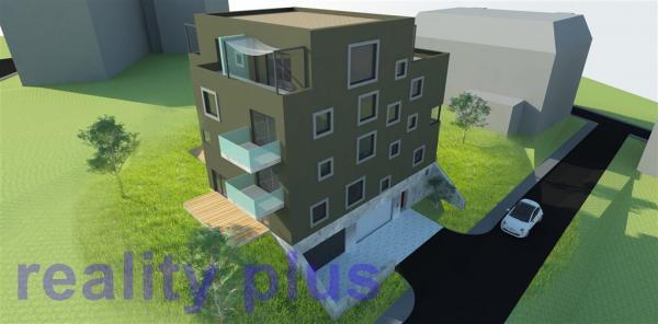 Prodej pozemku  vhodného ke stavbě bytového domu v centru Liberce, ul. U Valchy