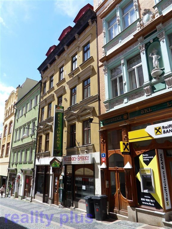 Pronájem obchodního prostoru v Liberci, ul. Pražská