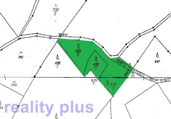 Prodej lesních pozemků v k.ú. Dlouhý Most