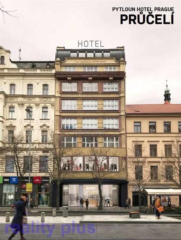 Dlouhodobý pronájem lukrativních obchodních prostor, Václavské náměstí, Praha