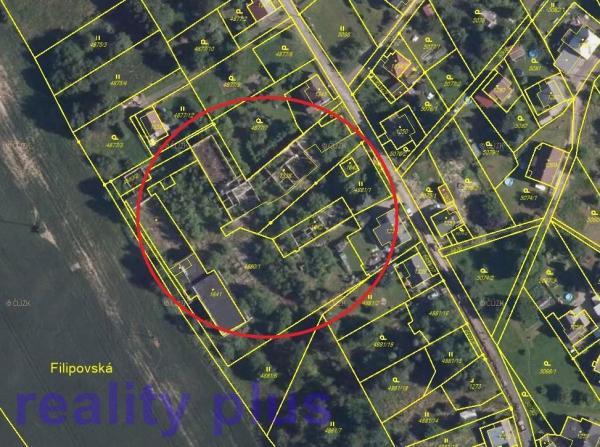 Prodej stavebních pozemků v obci Jiříkov - Filipov
