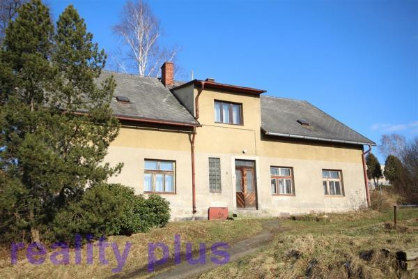 Prodej rodinného domu se zahradou v k.ú. Radčice u Krásné Studánky, ulice Raspenavská