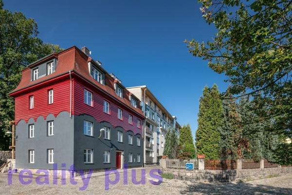 Pronájem nového mezonetového bytu 2+kk v Liberci, ul. Svatoplukova